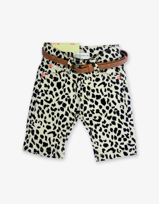 cheetah print shorts