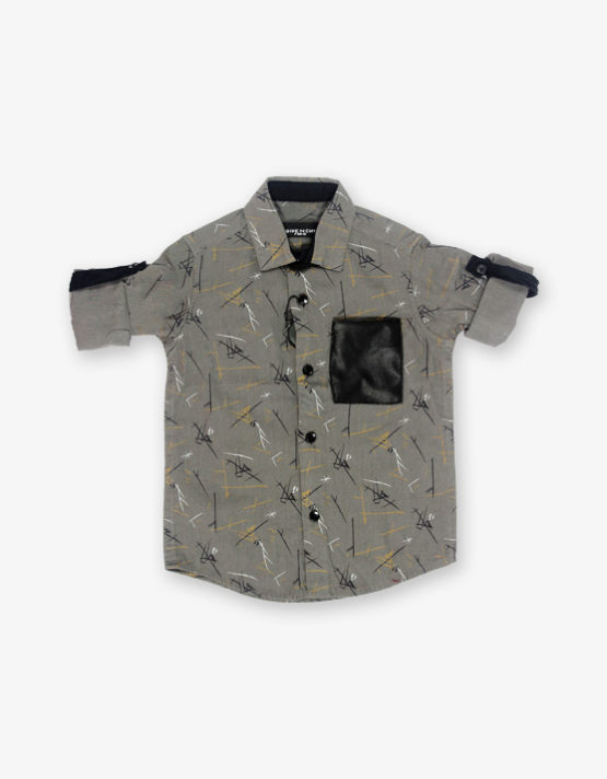 Ash Green printed shirt