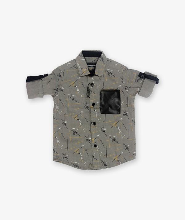 Ash Green printed shirt